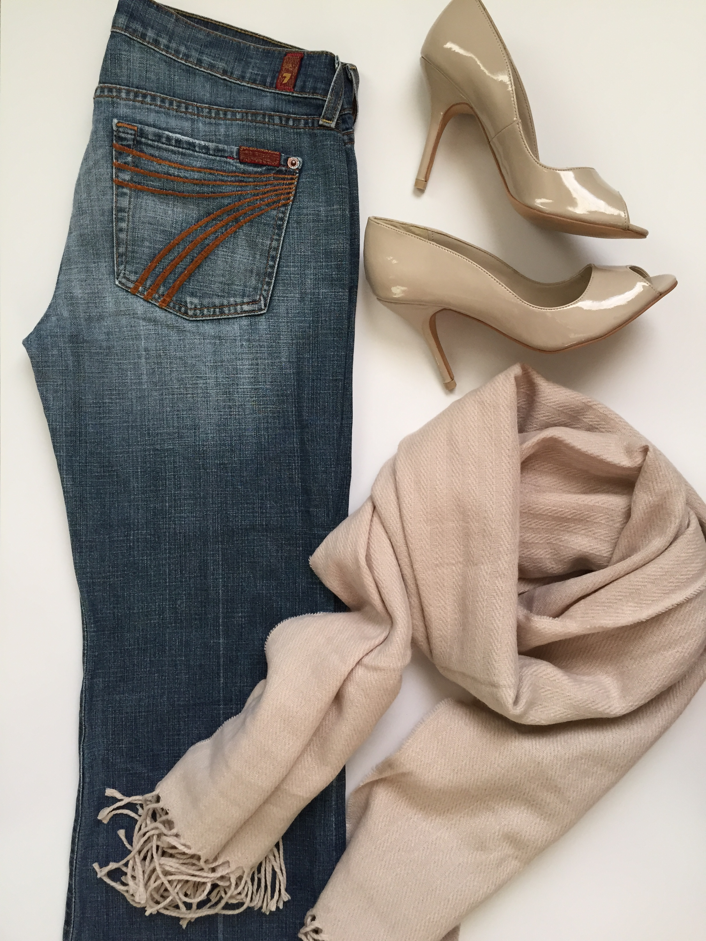 pinks.. blushes.. and denim